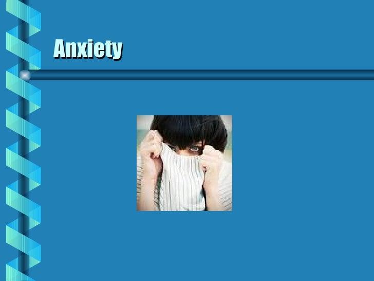 Coe Meade Cdp Anxiety
