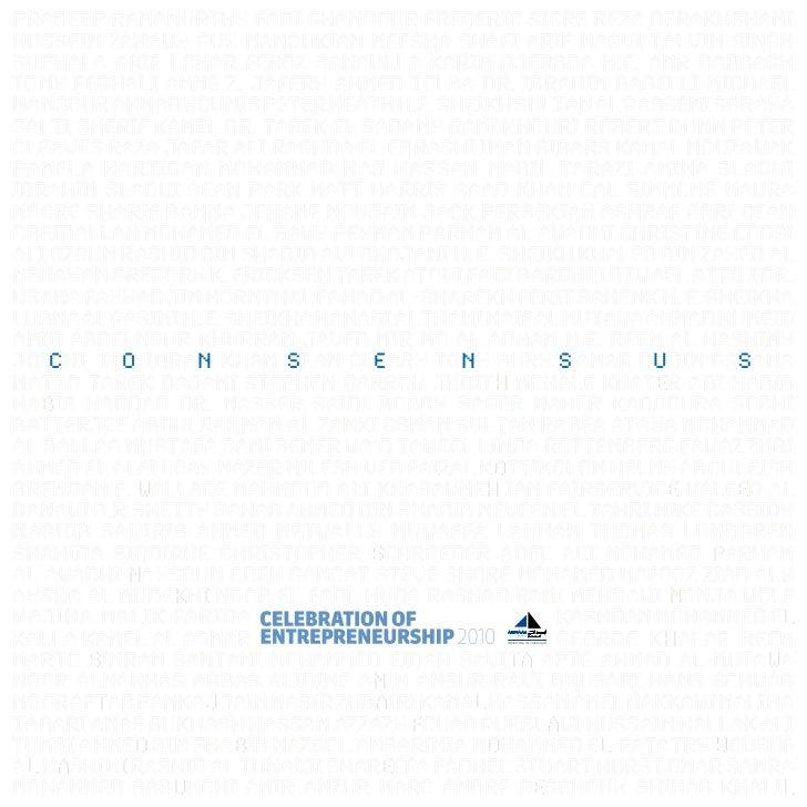 'Consensus' Book_Celebration of Entrepreneurship_Wamda_AbraajCapital