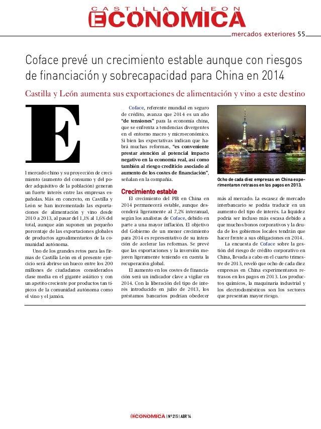 Coface en Castilla y León Económica
