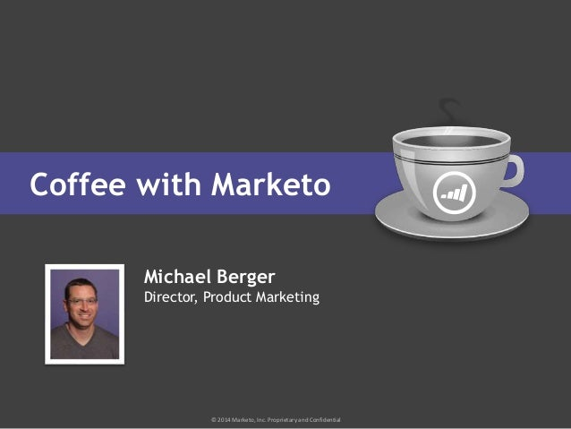 Coffee with Marketo: You Have Questions, We Have Answers