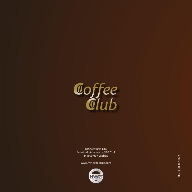 Coffee club catálogo Portugal