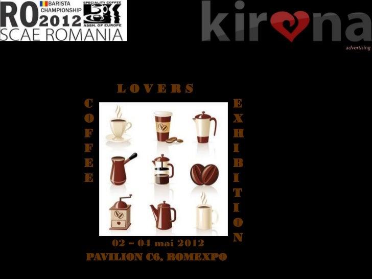 Campionatul National de Barista la COFFEE LOVERS EVENT - Romexpo 3-5 mai