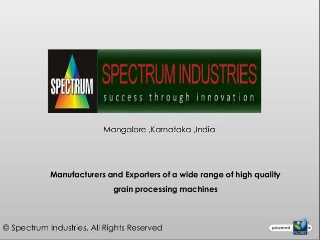 Mangalore ,Karnataka ,India            Manufacturers and Exporters of a wide range of high quality                        ...