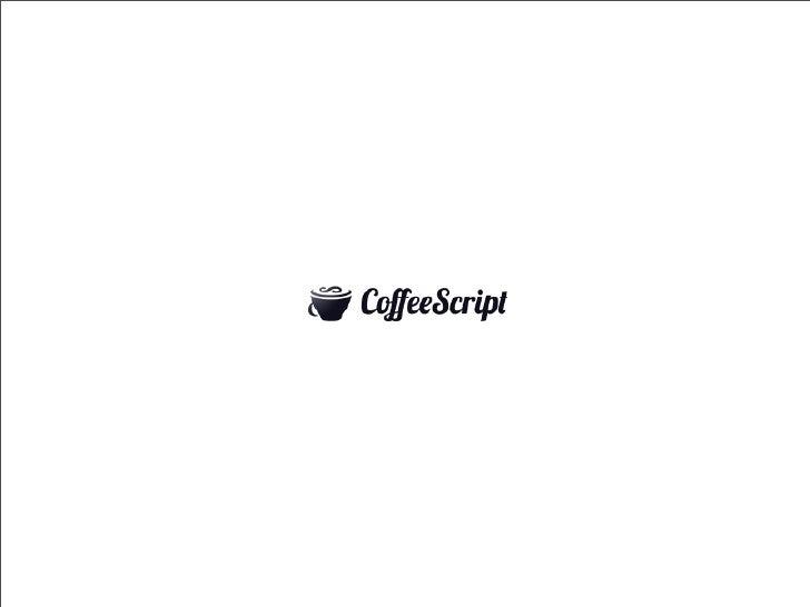 CoffeeScript - en introduksjon