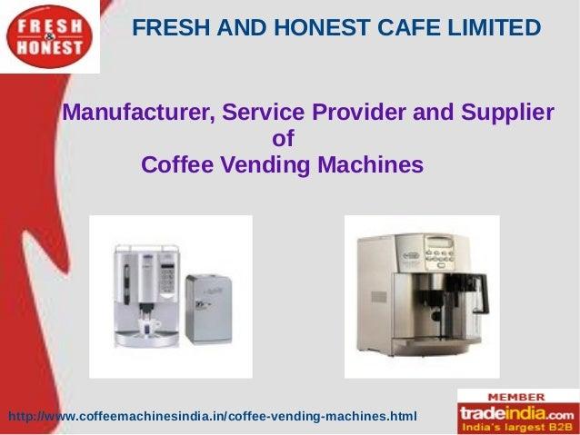 Coffee Vending Machines Manufacturer,Supplier,Chennai