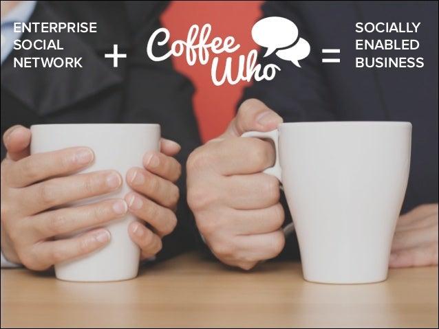 ENTERPRISE SOCIAL NETWORK  +  =  SOCIALLY ENABLED BUSINESS