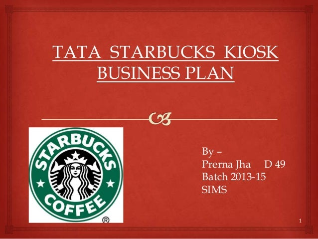 Coffee kiosk business plan template