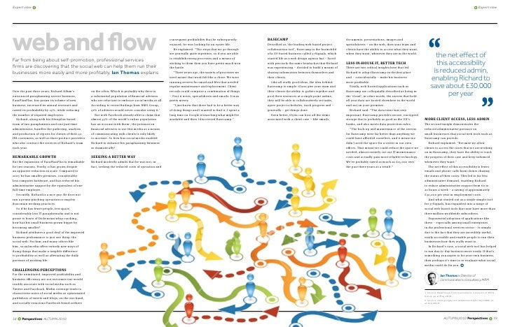 Web and flow: How the social web can help make SMEs profitable