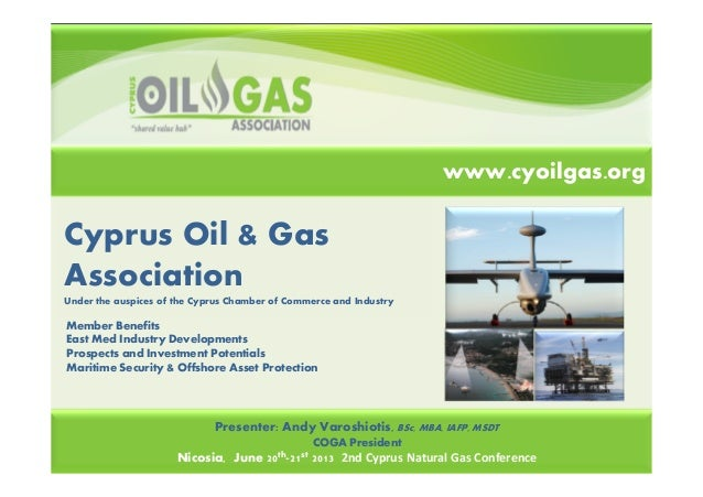 Cyprus Oil & GasAssociationUnder the auspices of the Cyprus Chamber of Commerce and IndustryEnergy Drivers for EmissionsPr...