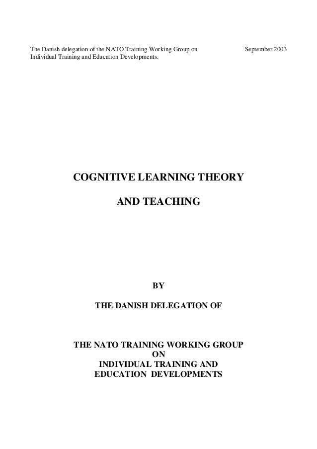 Cog learning theory