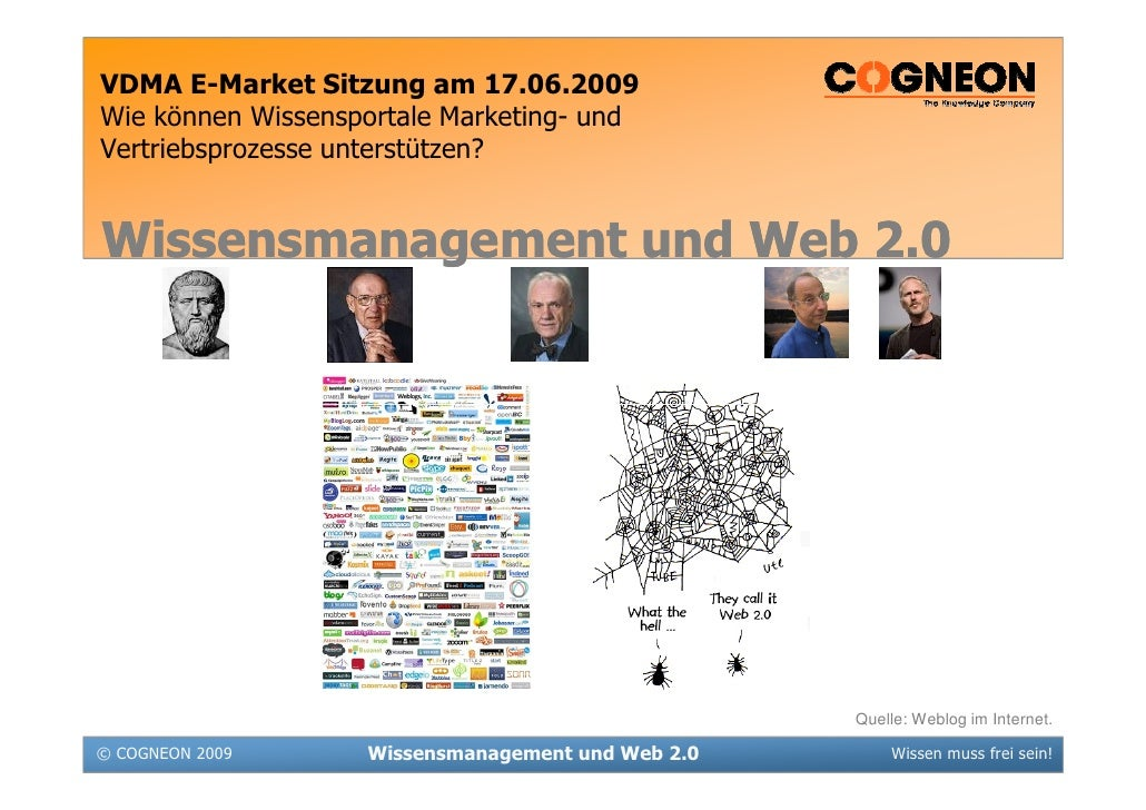 Cogneon Praesentation   Wissensmanagement Und Web 2 0