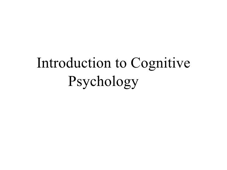 IB Psychology Cognitive