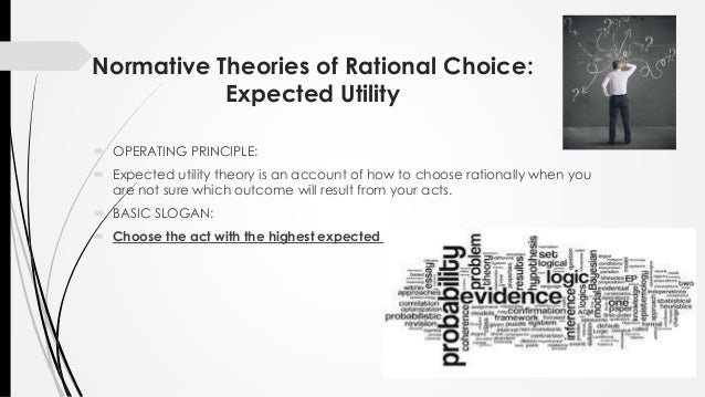 are criminals rational decision makers essay Chongming chen 0251662 advantages and disadvantages of rational decision-making model introduction as an organization, every day there will be diverse of alternatives for decision makers to choose from and make the final decision.
