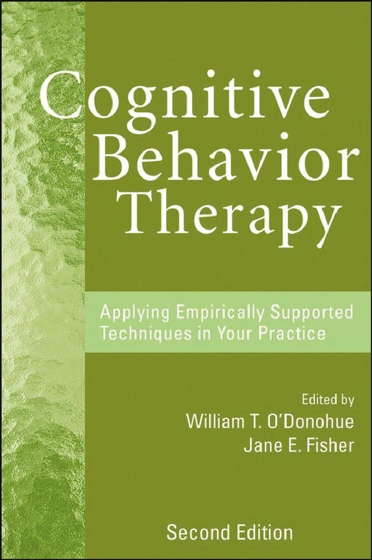 COGNITIVEBEHAVIOR THERAPY