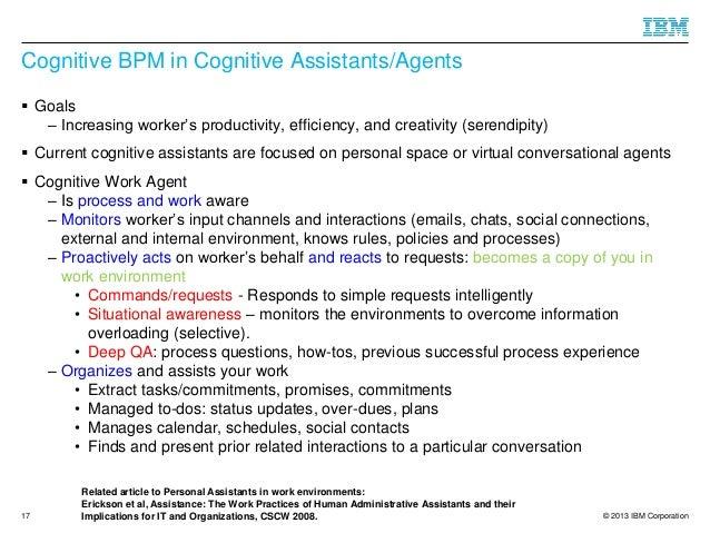 towards cognitive bpm as a platform for smart process
