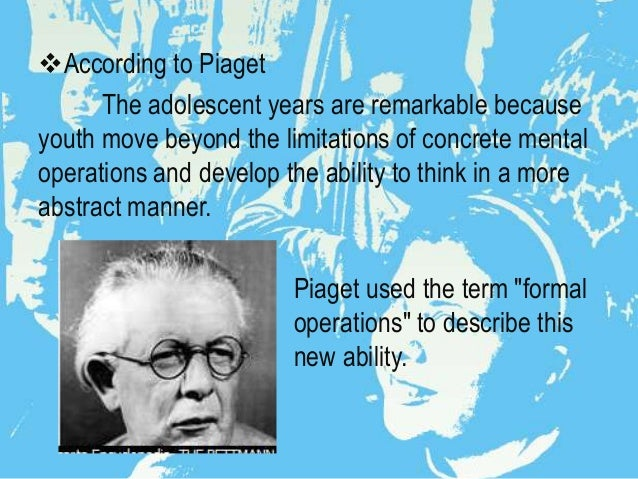 an examination of piaget stage theory