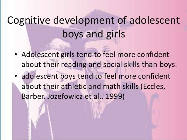 adolescence cognitive development essay Challenges of adolescence child development fundamentals child development: latency age cognitive behavioral treatment for youth with developmental.