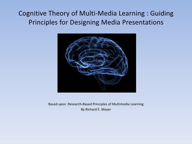 Cognitive principles of instruction (edet 722) ctml
