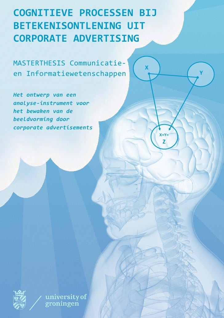 Masterthesis E. H. Staal - Cognitive Processes by Meaning Construction in Corporate Communication