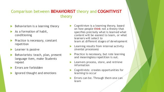 compare psychodynamic behaviourist and cognitive approaches There may be no attempt made to compare these to a larger group, standard or  norm  the psychodynamic approach is often labelled 'idiographic' because of   much of the research conducted by behaviourist, cognitive and biological.
