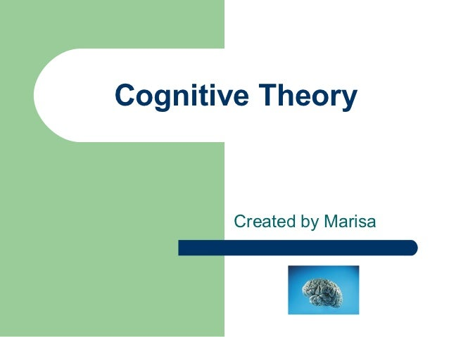 Cognitive Theory       Created by Marisa