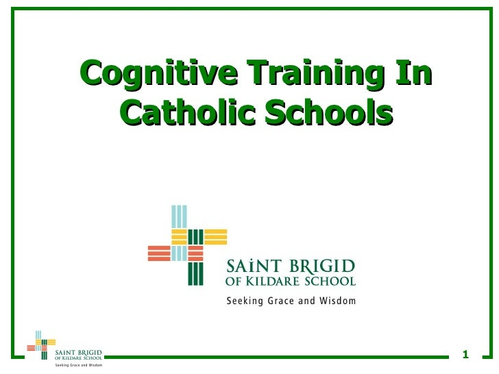 Cognitive Training In Catholic Schools