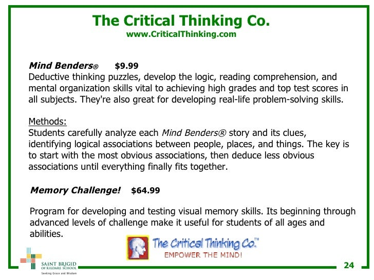 teaching critical thinking elementary Descriptors: classification critical thinking educational environment educational objectives elementary secondary education higher education problem solving.
