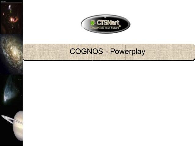 COGNOS - Powerplay