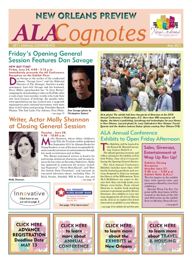 Cognotes ALA11 Preview (May 2011)