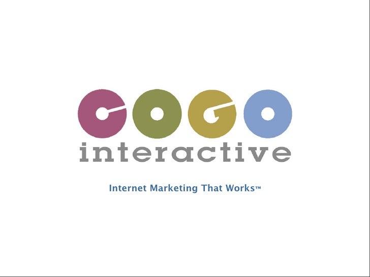 Cogo interactive services