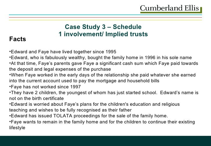 Family case study presentation - SlideShare