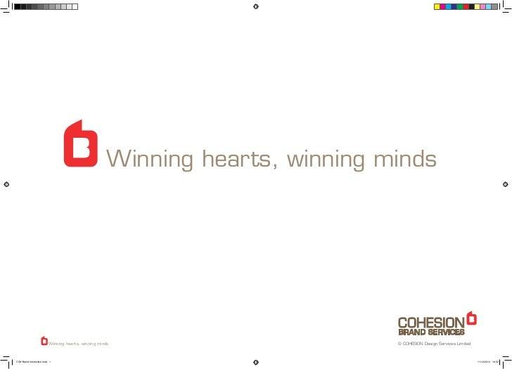 Winning hearts, winning minds                          Winning hearts, winning minds                       © COHESION Desi...