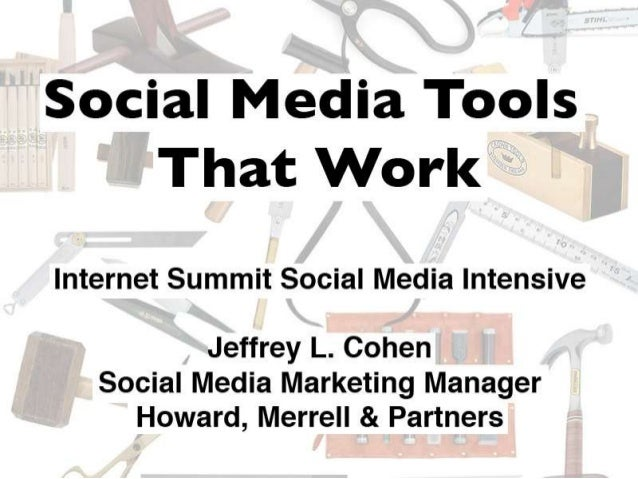 Social Media Tools That Work
