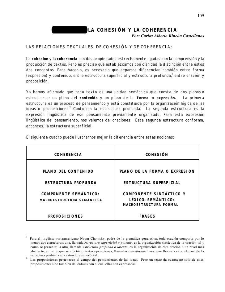 109                   UNIDAD 12: LA COHESIÓN Y LA COHERENCIA                                                              ...