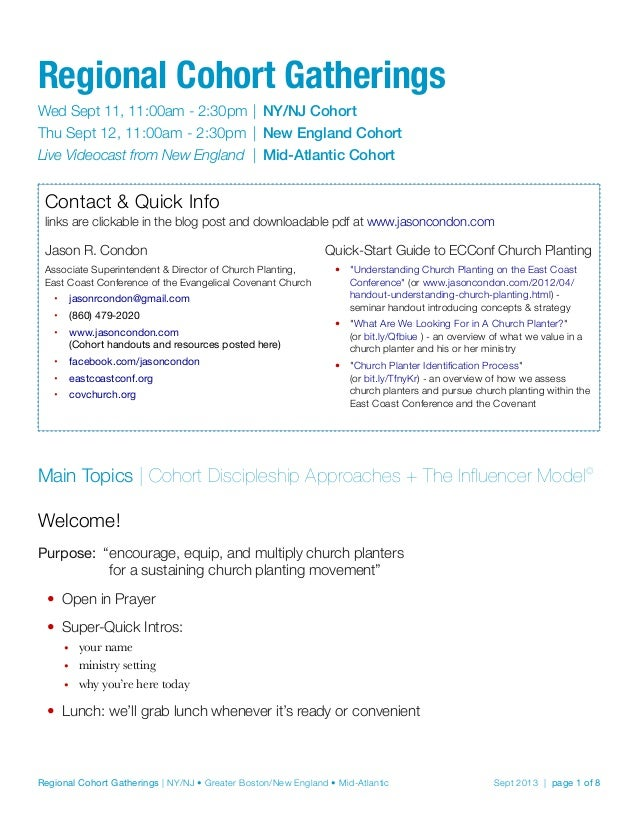 Cohort 2013 09-11
