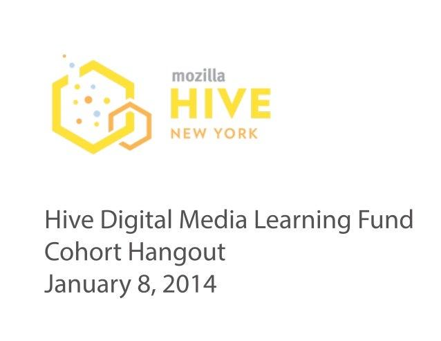 Hive NYC Cohort Meetup1.8.14