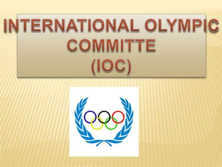 The International Olympic Committee (ICO) is an international corporation basedin Lausanne, Switzerland, created by Pierre...