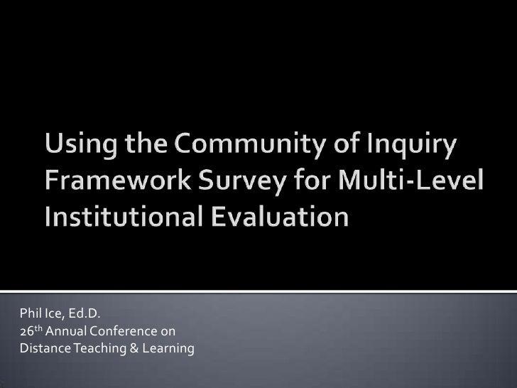 Co i evaluation