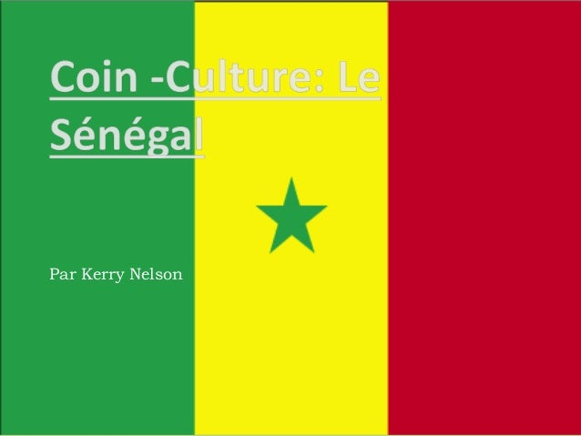 Coin  culture senegal