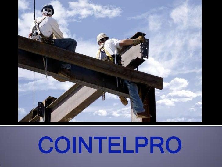 COINTELPRO<br />