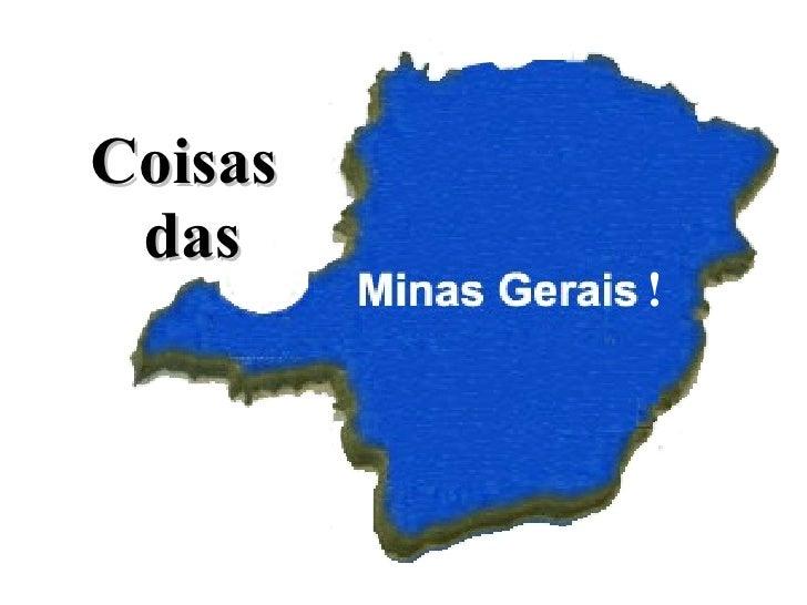 Coisas das Minas Gerais