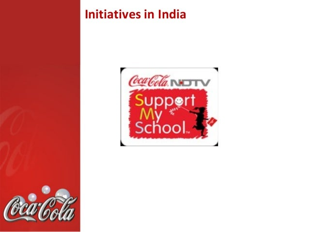 marketing initiatives coca cola india Coca-cola india today announced changes to its leadership structure the new structure is designed to enable india and south west asia (swa) business to be a growth engine for the coca-cola.