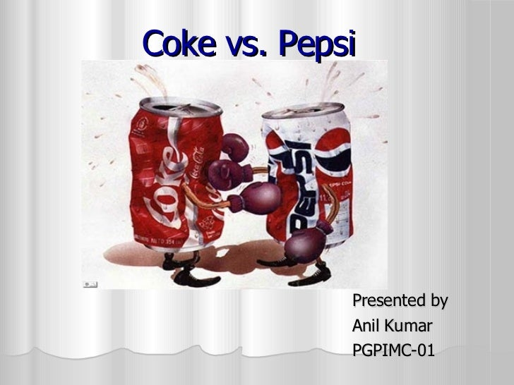 comparative study on pepsi and coke A comparative study and mother brand influence on determining the consumer perception of diet coke and diet pepsi: a uk market perspective international journals of marketing and technology (ijmt), 3(9), 128–142.