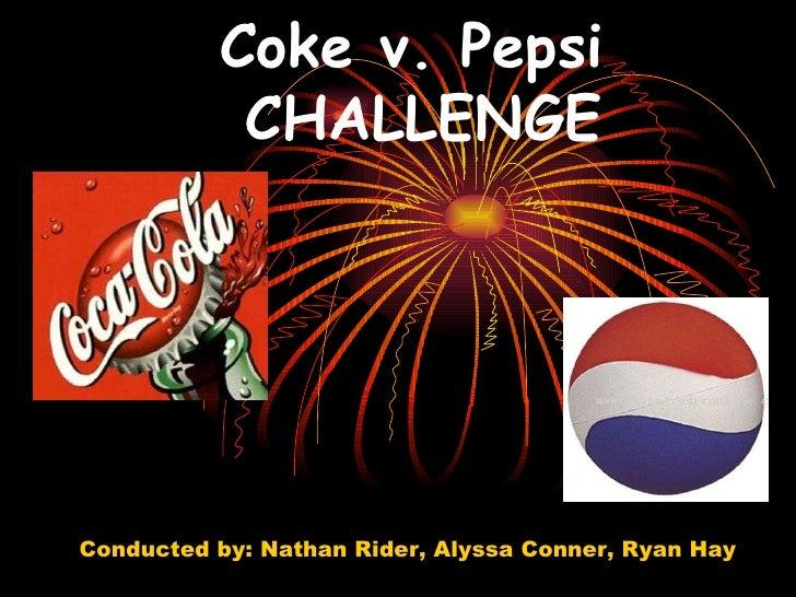 Coke v. Pepsi Challenge