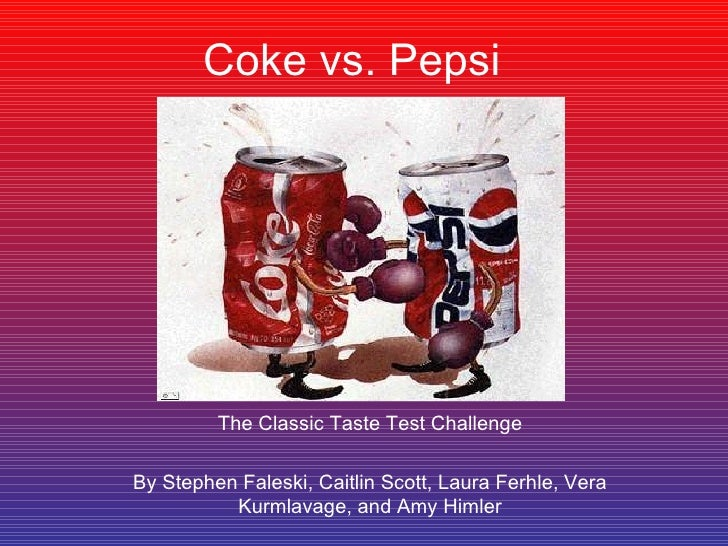 coke and pepsi case study analysis A business case study on the cola wars between coca-cola and pepsi that has played out over the years.