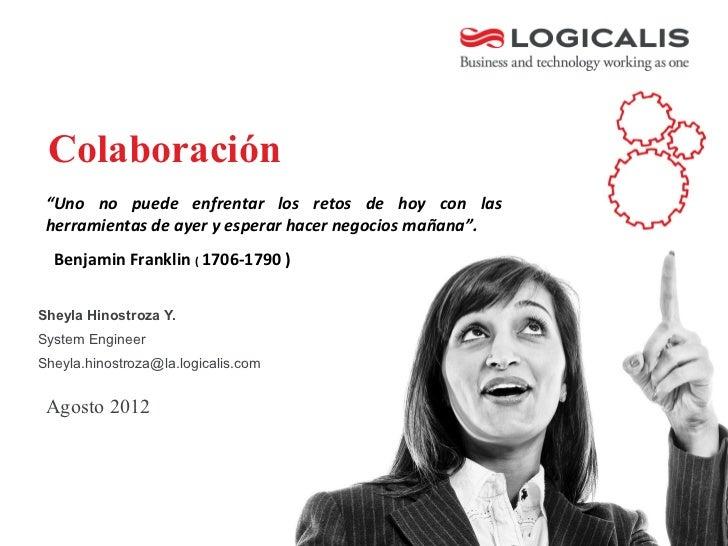 Presentación Colaboración bolivia  2012