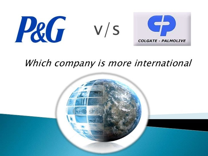 v/sWhich company is more international