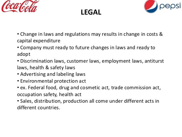 five forces coke wars Pepsico's five forces analysis (porter's model) is shown in this case study on competitive rivalry, buyers, suppliers, substitutes, and new entrants' power.