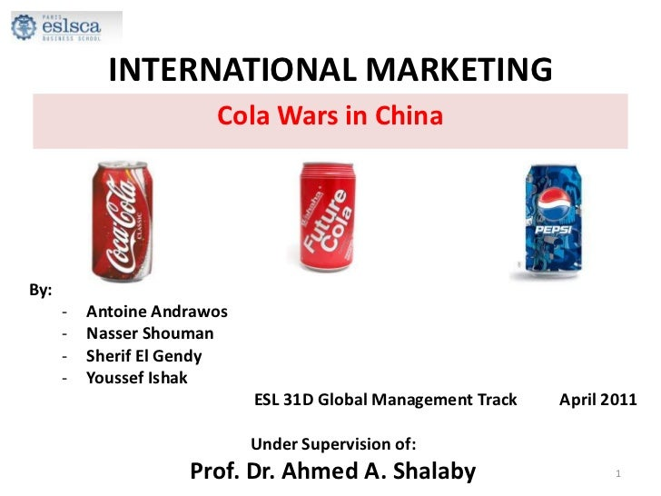 cola wars case analysis