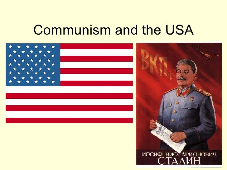 Communism and the USA